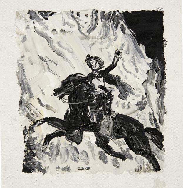 , 'Murrieta escapando a caballo,' 2014, Galeria Leme