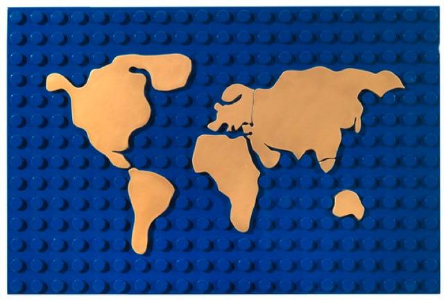 , 'Lego mappa,' 2010, Partners & Mucciaccia
