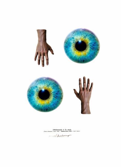, 'Stéréoscopie à la main,' 2016, Galerie Charlot