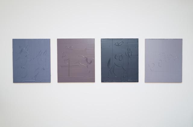 , 'Otto chili di quattro grigi,' 2015, P420