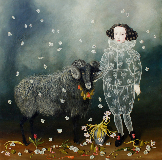 , 'Child and Ram,' , Gail Severn Gallery