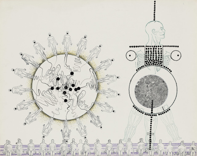 , 'Robots,' 1966, Simone Subal