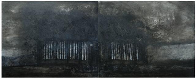 , 'Díptico,' 1985, Galería de la Oficina