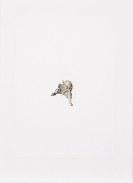 João Maria Gusmão, 'Untitled', Drawing, Collage or other Work on Paper, Graphite and collage on paper, Veritas