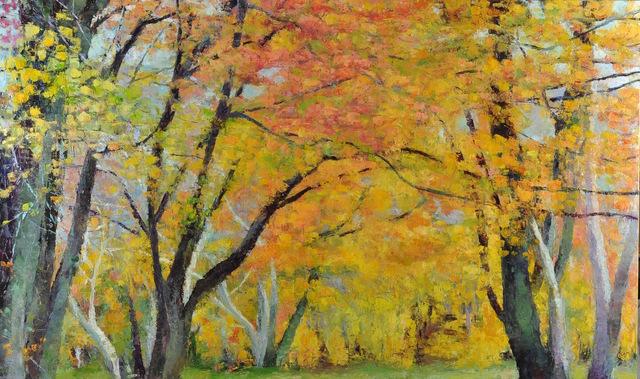 , 'Opus of Trees,' 2018, Mark White Fine Art
