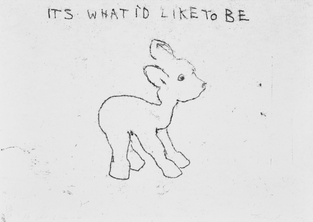 Tracey Emin, 'It's What I'd Like to Be', 1998, Oliver Clatworthy