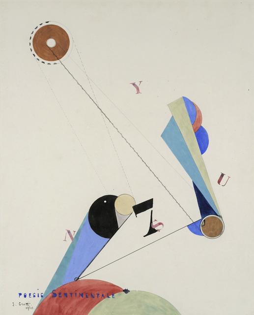 , 'Poésie sentimentale,' 1920, Galerie Natalie Seroussi