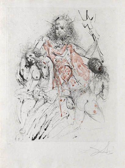 Salvador Dalí, 'Neptune', 1963, Galerie d'Orsay