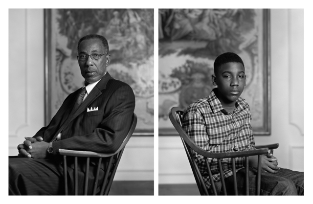 Dawoud Bey, 'The Birmingham Project: Don Sledge and Moses Austin', 2012, Rena Bransten Gallery