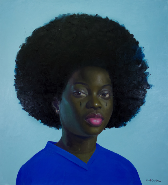 oluwole omofemi, 'Abeni ', 2020 , Painting, Oil and acrylic on canvas, Out of Africa Gallery
