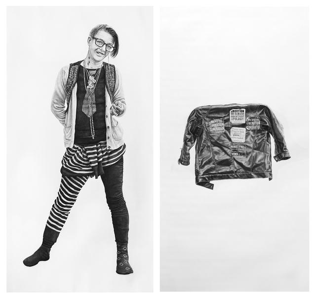 , 'Alex and Alex's Coat,' 2016, Hashimoto Contemporary