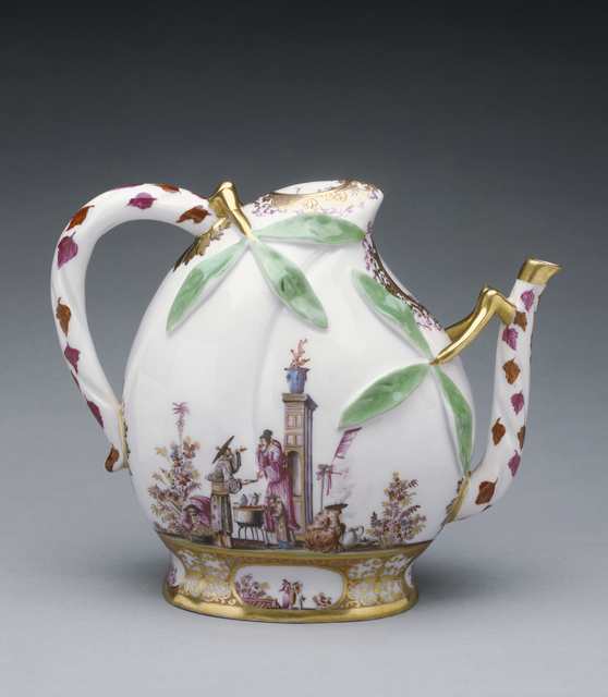'Wine Pot',  about 1725, J. Paul Getty Museum