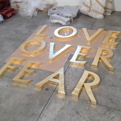 Brett Murray, 'Love Over Fear', 2017, DEAN PROJECT