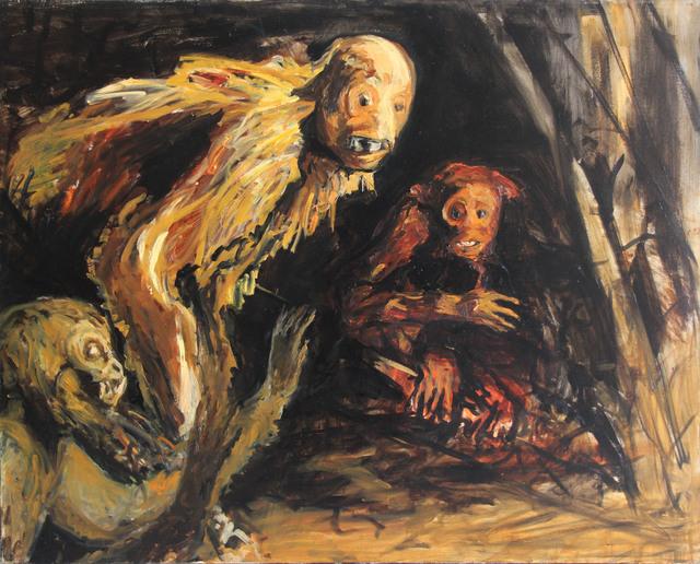 , 'Algo pasó ,' 2007, Galería Quetzalli
