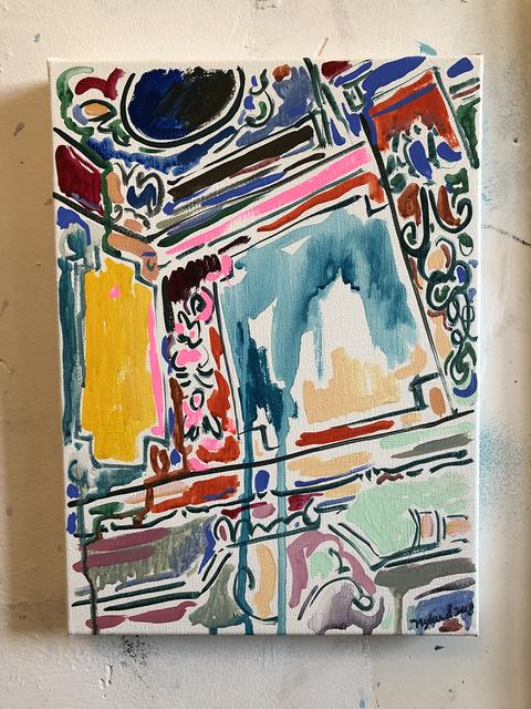 , 'Boiserie,' 2018, Linda Hodges Gallery