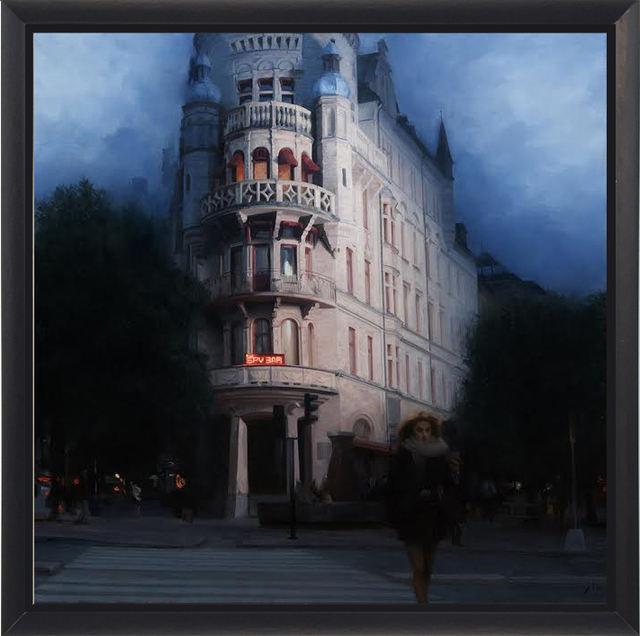 Nick Alm, 'Spy Bar', 2016, Painting, Oil on Canvas, ARCADIA CONTEMPORARY