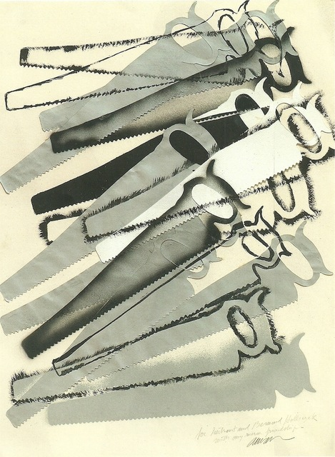 , 'Composition with saws,' , HUNDERTMARKartFAIR