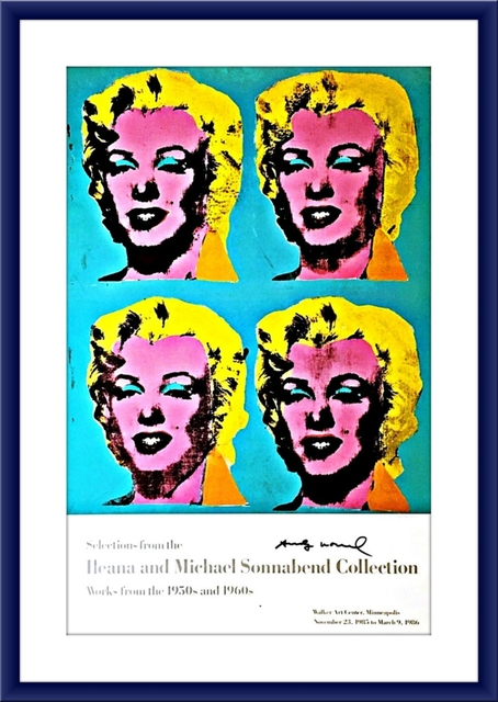 Andy Warhol, 'Ileana and Michael Sonnabend Collection (Hand Signed)', 1985, Alpha 137 Gallery Auction