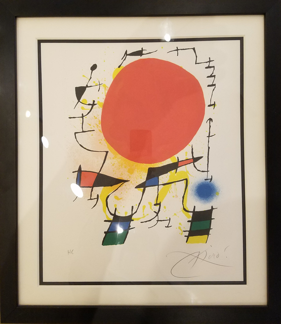 Joan Miró, 'Red Sun', 1970-1975, Ethos Contemporary Art