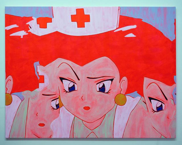 , 'Nurse Painting (Glitch 2),' 2016, Castor Gallery