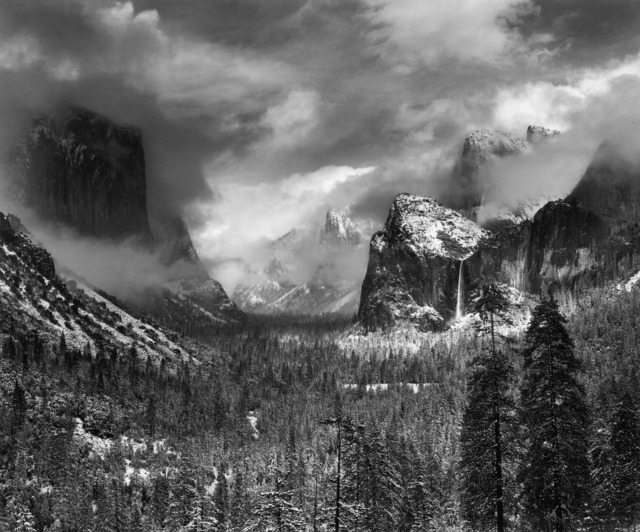 , 'Clearing Winter Storm, Yosemite National Park, California,' ca. 1938, The Ansel Adams Gallery