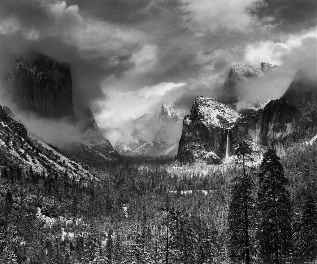Clearing Winter Storm, Yosemite National Park, California