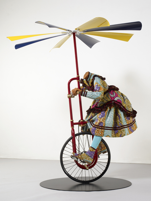 , 'Girl on Flying Machine,' 2008, James Cohan