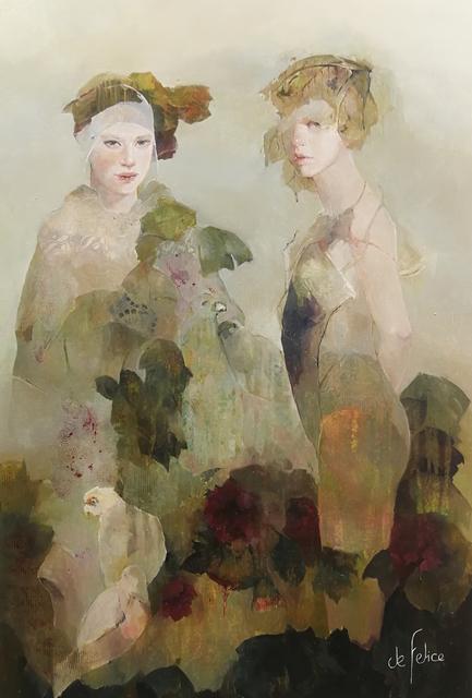 Françoise de Felice, 'Le jardin aux oiseaux', 2019, Galerie Calderone