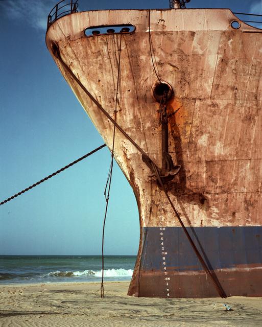 , 'Ship on Sand #1,' 2014, Riccardo Crespi