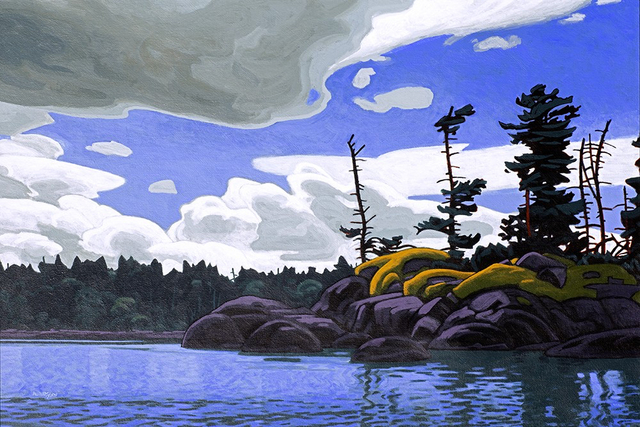 Clayton Anderson, 'Island Passage', 2020, Painting, Acrylic on Canvas, Madrona Gallery