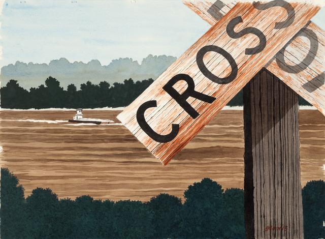, 'Muddy Crossing,' 2013, Mac-Gryder Gallery