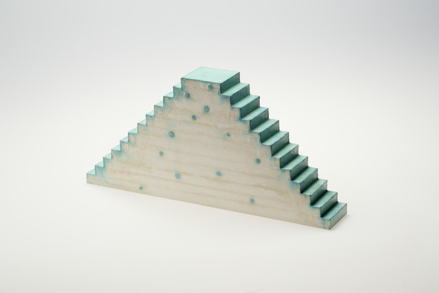 , 'Relation - Optic Stairway Time, Verdigris and Upwards, Downwards,' 2014, SNOW Contemporary