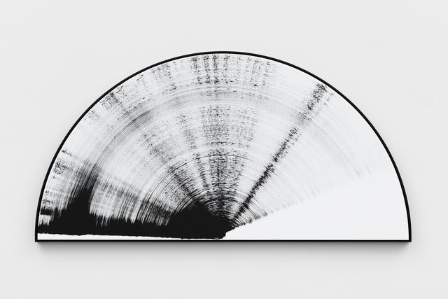 , 'Half Circle Painting, black & white #8,' 2017, KÖNIG GALERIE