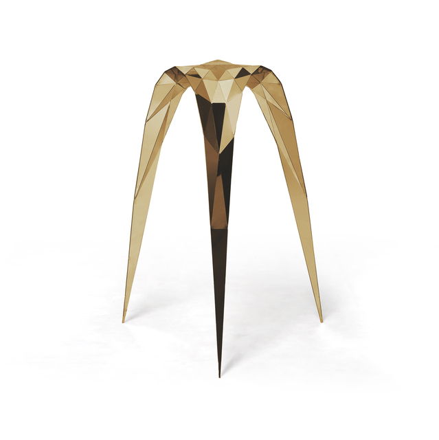, 'Brass Triangle Stool,' 2015, Gallery ALL