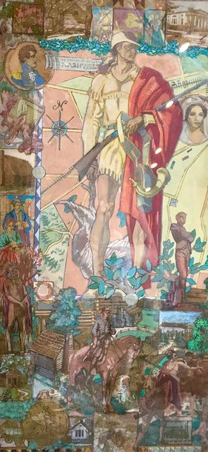 Dean Cornwell, 'Study for Mural in the Lobby of WPA Courthouse in Nashville', 20th Century, The Illustrated Gallery