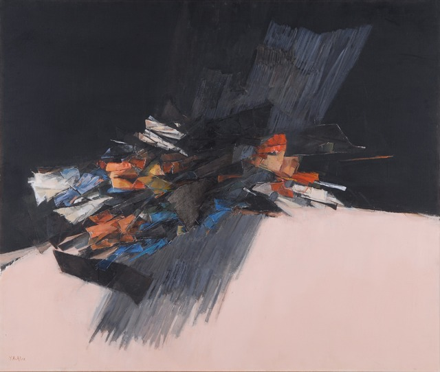 , 'Composition in black and pink,' 1987, The Sursock Museum