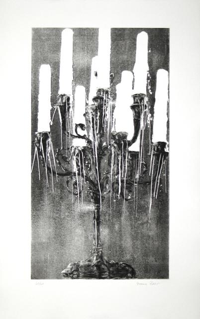 , 'Kandelaber (schwarz-weiss/black and white),' 2013, Fils Fine Arts