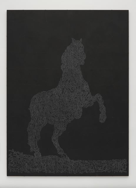 , 'Grey Horse,' 2016, White Cube