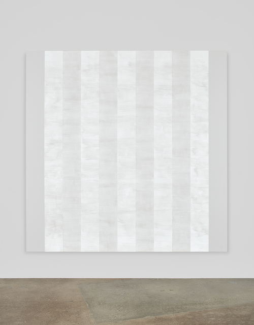 , 'Untitled (White Multiband with White Sides, Beveled),' 2011, Kayne Griffin Corcoran