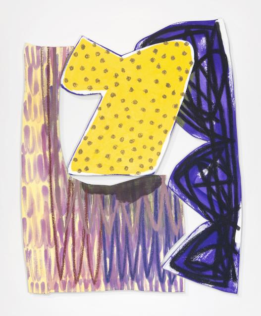 , 'Bookend 4,' 2018, Denny Gallery