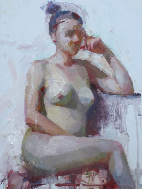 , 'Nude in Violet,' , Abend Gallery