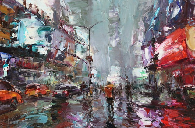 Lyudmila Agrich, 'Times Square Glow', 2019, SmithKlein Gallery