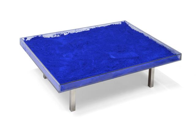 Yves Klein, 'Table bleue', 1963, Millon