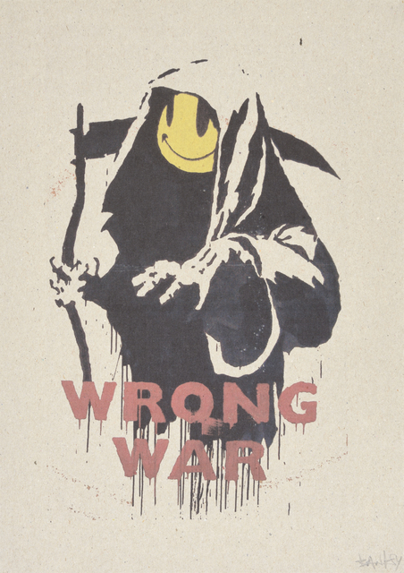 Banksy, 'WRONG WAR et PAX BRITANNICA : A HELLISH PEACE (A SET OF TWENTY-TWO PRINTS)', Digard Auction