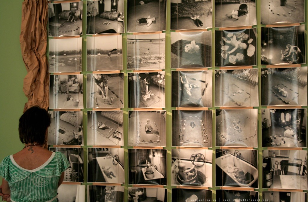 KwieKulik, Activities with Dobromierz, Documenta 12 (Exhibition View), 2007 © the artists