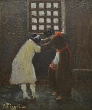, 'Riña entre presas,' ca. 1930, Pablo Goebel Fine Arts