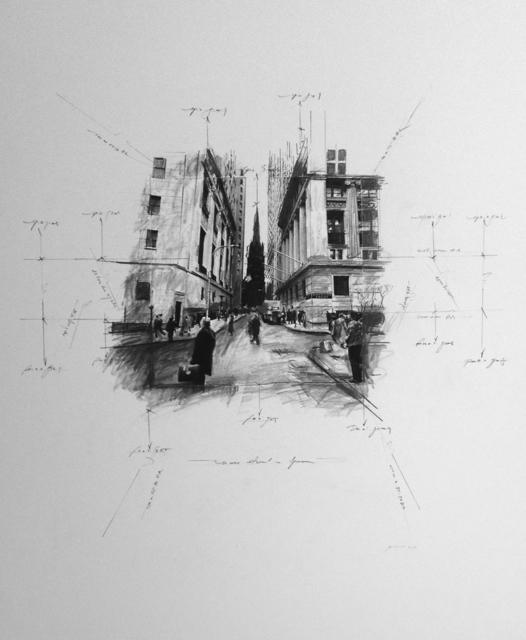 , 'Wall Street #1,' 2014, Octavia Art Gallery