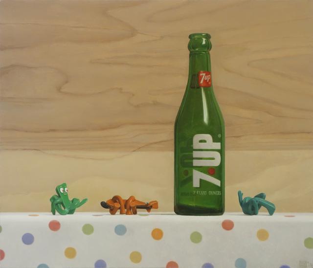 , '7-Up & Pretzels,' 2015, Gallery Henoch