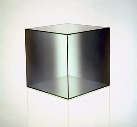 , 'Cube #7 (Green / Clear),' 2006, Bernard Jacobson Gallery