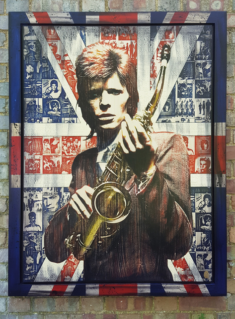 , 'Made in Britain: Bowie,' 2018, Reem Gallery